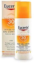 Parfémy, Parfumerie, kosmetika Opalovací gel pro mastnou a citlivou k akné pleť - Eucerin Sun Gel-Cream Oil Control SPF30