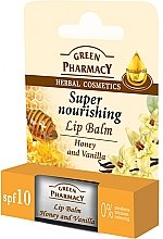 "Parfémy, Parfumerie, kosmetika Balzám na rty s ""Med a vanilka"" - Green Pharmacy Lip Balm With Honey And Vanilla"