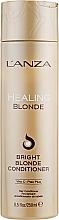 Parfémy, Parfumerie, kosmetika Léčivý kondicionér pro přírodní a odbarvené světlé vlasy - L'anza Healing Blonde Bright Blonde Conditioner