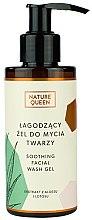 Parfémy, Parfumerie, kosmetika Uklidňující mycí gel - Nature Queen Soothing Facial Washing Gel