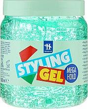 Parfémy, Parfumerie, kosmetika Modelovací gel na vlasy - Tenex Styling Wetlook Green Gel