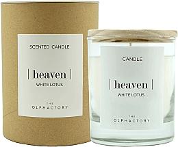 Parfémy, Parfumerie, kosmetika Aromatická svíčka Bílý lotus - Ambientair The Olphactory Heaven White Lotus