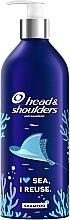 """Parfémy, Parfumerie, kosmetika Šampon proti lupům """"Základní péče"""" - Head & Shoulders Classic Clean (opakovaně použitelná hliníková láhev)"""