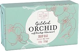Parfémy, Parfumerie, kosmetika Tělové mýdlo Orchidej - Scottish Fine Soap Gilded Orchid Luxury Wrapped Soap
