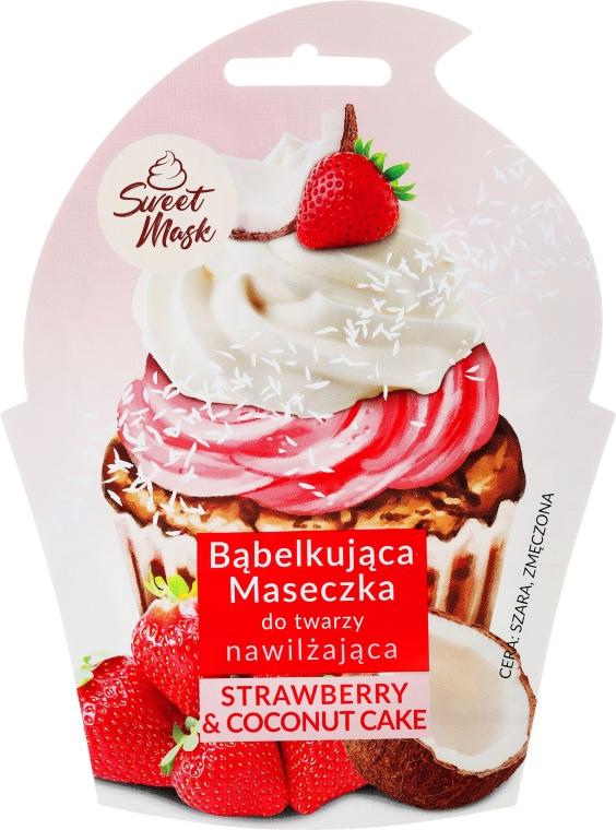 Výživná maska na obličej - Marion Sweet Mask Strawberry & Coconut Cream