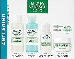 Parfémy, Parfumerie, kosmetika Sada - Mario Badescu Anti-Aging Kit (cleanser/56ml+toner/56ml+cr/28ml+mask/14ml+eye/cr/3g)