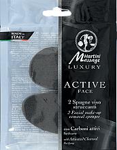Parfémy, Parfumerie, kosmetika Houba na odstranění make-upu s aktivovaným uhlím - Martini Spa