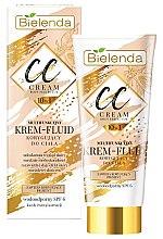 Parfémy, Parfumerie, kosmetika CC krém fluid pro tělo - Bielenda Magic CC 10in1 Body Correction Cream Waterproof Tanning Effect SPF6