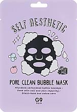 Parfémy, Parfumerie, kosmetika Bublinková plátýnková pleťová maska - G9Skin Self Aesthetic Poreclean Bubble Mask