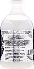 Šampon pro obnovu vlasů s černým kaviárovým extraktem - Kallos Cosmetics Caviar Shampoo — foto N2