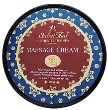Parfémy, Parfumerie, kosmetika Masážní krém s extraktem Centelly a Aloe Vera - Sabai Thai Jasmine Aroma Massage Cream
