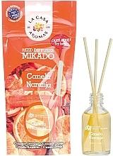 Parfémy, Parfumerie, kosmetika Aroma difuzér Skořice a pomeranč - La Casa de Los Aromas Mikado Reed Diffuser