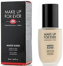 Parfémy, Parfumerie, kosmetika Tónový základ - Make Up For Ever Water Blend Foundation