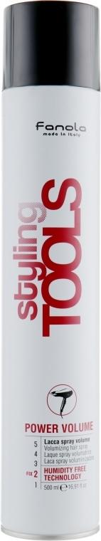 Sprej pro objem - Fanola Tools Power Volume Volumizing Hair Spray