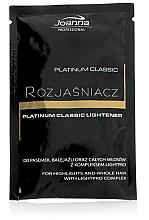 Parfémy, Parfumerie, kosmetika Zesvětlovač vlasů - Joanna Professional Platinum Classic Lightener (sashet)
