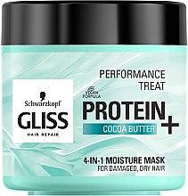 "Parfémy, Parfumerie, kosmetika Maska 4 v 1 ""Hydratace"" pro poškozené, slabé vlasy - Schwarzkopf Gliss Kur Performance Treat"