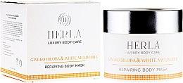 Parfémy, Parfumerie, kosmetika Maska na tělo - Herla Luxury Body Care Gingko Biloba & White Mulberry Body Mask