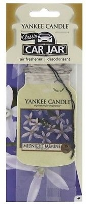 "Vůně ""Půlnoční jasmín"" - Yankee Candle Midnight Jasmine Jar Classic"
