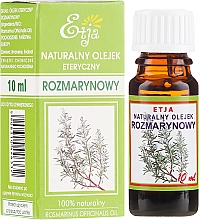 Parfémy, Parfumerie, kosmetika Přírodní éterický olej Rozmarýn lékařský - Etja Natural Essential Oil