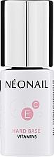 Parfémy, Parfumerie, kosmetika Báze pod gel lak - NeoNail Professional Hard Base Vitamins