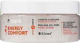 Parfémy, Parfumerie, kosmetika Cukrový peeling na nohy - Silcare Nappa Natural Sugar Foot Scrub