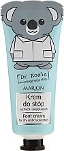 Parfémy, Parfumerie, kosmetika Krém na nohy - Marion Dr Koala Foot Cream