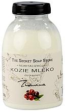 "Parfémy, Parfumerie, kosmetika Koupelové kozí mléko ""Klikva"" - The Secret Soap Store Cranberry Goat Milk"