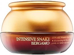 Parfémy, Parfumerie, kosmetika Anti-age krém s extraktem z hadího jedu - Bergamo Intensive Snake Wrinkle Care Cream