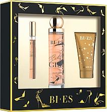 Parfémy, Parfumerie, kosmetika Bi-Es Selfie Girl - Sada (edp/100ml + edp/12ml + sh/gel/50ml)