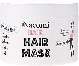 Parfémy, Parfumerie, kosmetika Regenerační maska na vlasy - Nacomi Regenerating Hair Mask