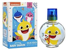 Parfémy, Parfumerie, kosmetika Air-Val International Baby Shark - Toaletní voda