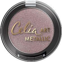 Parfémy, Parfumerie, kosmetika Oční stíny - Celia Art Metallic Eye Shadow