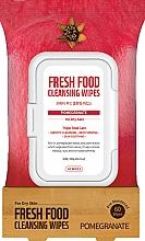 Parfémy, Parfumerie, kosmetika Čisticí pleťové ubrousky Granátové jablko - Superfood For Skin Fresh Food Facial Cleansing Wipes