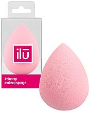 Parfémy, Parfumerie, kosmetika Sponge na make-up, růžový - Ilu Sponge Raindrop Pink