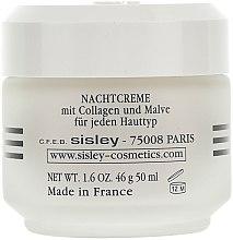 Noční liftingový krém - Sisley Creme Collagene Et Mauve Botanical Night Cream — foto N2