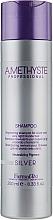 Parfémy, Parfumerie, kosmetika Oživující šampon na šedivé a blond vlasy - Farmavita Amethyste Silver Shampoo