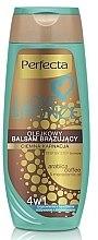 Parfémy, Parfumerie, kosmetika Bronzující balzám na tělo, tmavý - Perfecta I Love Bronze Balm