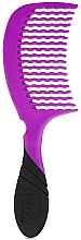 Parfémy, Parfumerie, kosmetika Hřeben na vlasy, fialový - Wet Brush Pro Detangling Comb Purple