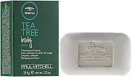 Parfémy, Parfumerie, kosmetika Čistící mýdlo - Paul Mitchell Tea Tree Body Bar