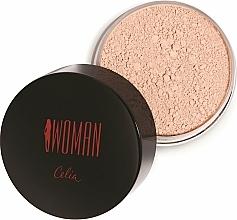 Parfémy, Parfumerie, kosmetika Sypký pudr na obličej - Celia Woman Loose Powder
