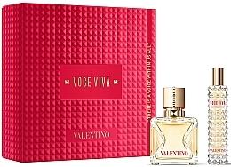 Parfémy, Parfumerie, kosmetika Valentino Voce Viva - Sada (edp/50ml + edp/mini/15ml)