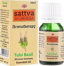 Parfémy, Parfumerie, kosmetika Esenciální olej - Sattva Ayurveda Tulsi Basil Essential Oil