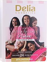 Parfémy, Parfumerie, kosmetika Sada pro make-up - Delia Cosmetics Calendar 2020/2021