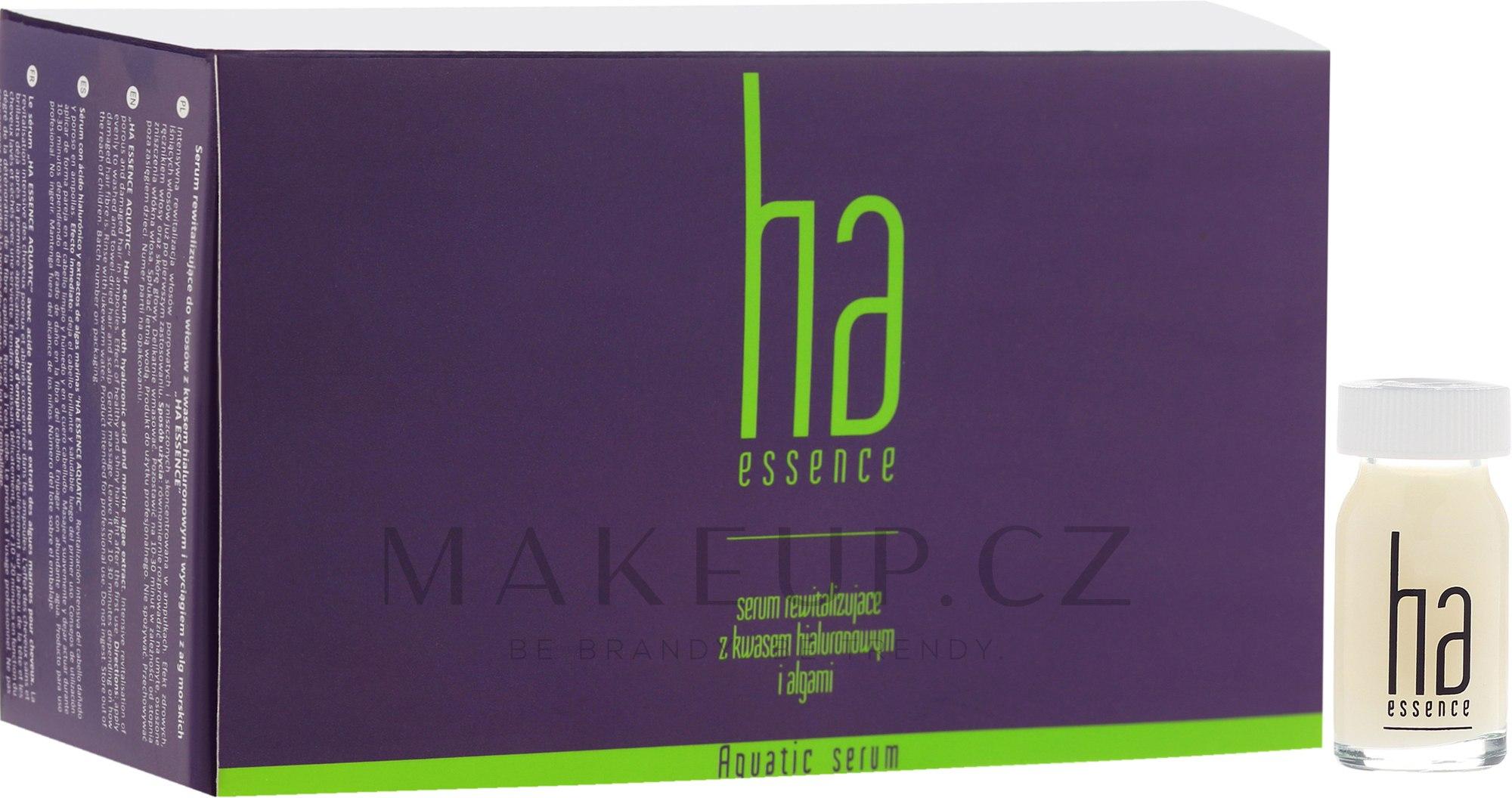 Sérum na vlasy - Stapiz Ha Essence Aquatic Serum — foto 12x8 ml