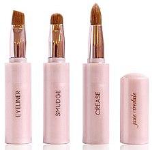 Parfémy, Parfumerie, kosmetika Přenosný make-up štětec - Jane Iredale Brush Snappy Wand 3 in 1 Limited Edition