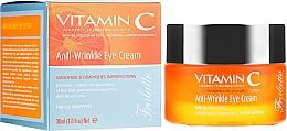 Parfémy, Parfumerie, kosmetika Oční krém proti vráskám - Frulatte Vitamin C Anti-Wrinkle Eye Cream