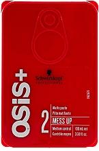 Parfémy, Parfumerie, kosmetika Vosk na vlasy s matným účinkem - Schwarzkopf Professional Osis+ Mess Up Matt Gum