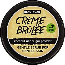 "Parfémy, Parfumerie, kosmetika Peeling na obličej ""Creme brulee"" - Beauty Jar Gentle Scrub For Gentle Skin"