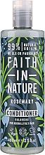 Parfémy, Parfumerie, kosmetika Kondicionér na vlasy s rozmarýnem - Faith in Nature Rosemary Conditioner