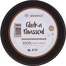 Parfémy, Parfumerie, kosmetika Kosmetický marocký jíl Rhassoul - Shamasa